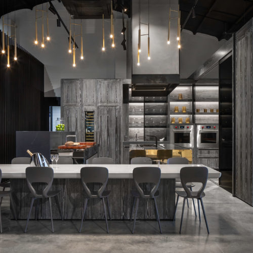 Antry Showroom Kitchen