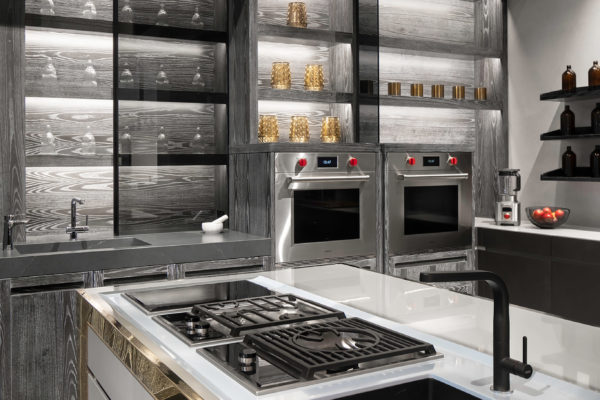 Display Kitchen with Wolf Kitchen Appliances